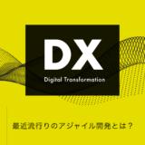 デジタルトランスフォーメーション:最近流行りのアジャイル開発とは?