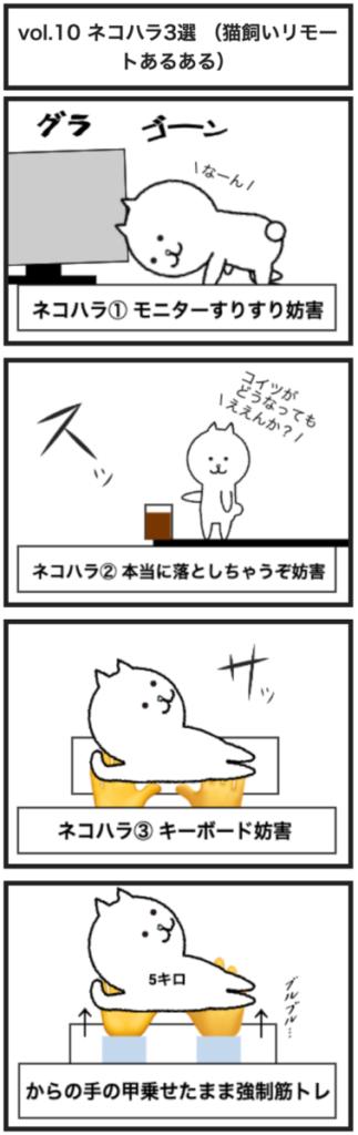 vol.10 ネコハラ3選 (猫飼いリモートあるある)