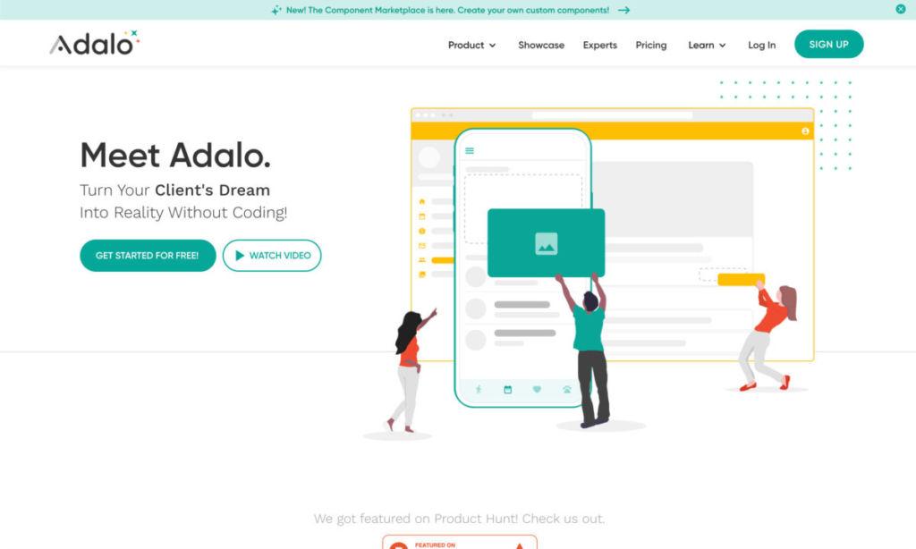 adalo / 【 NoCode 】プログラミング無しでサービスが作れる!代表的なノーコードサービスを紹介!