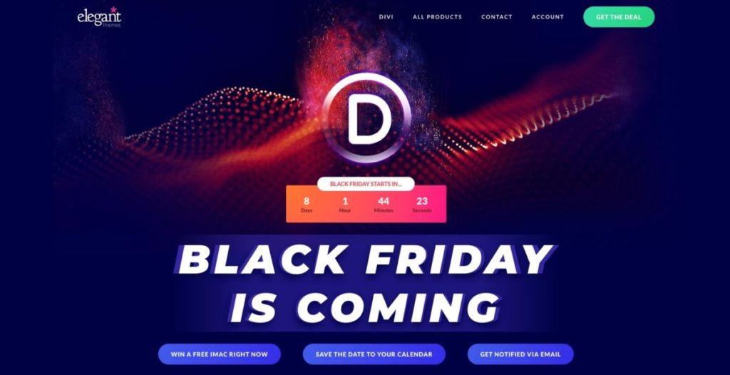 Divi Marketplace / 随時更新ブクマ必須!2020年 BLACK FRYDAY!お得なセール集めました!