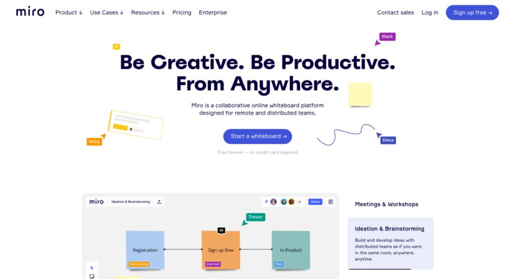 miro / 【思考整理術 】アプリを使って思考を整理!新しいアイデアをどんどん生み出そう!