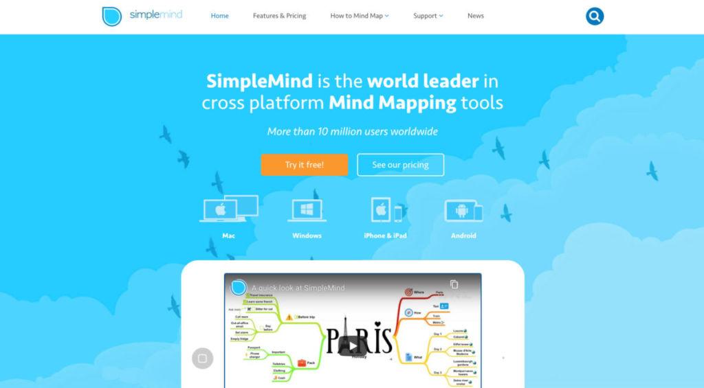 simplemind / 【思考整理術 】アプリを使って思考を整理!新しいアイデアをどんどん生み出そう!