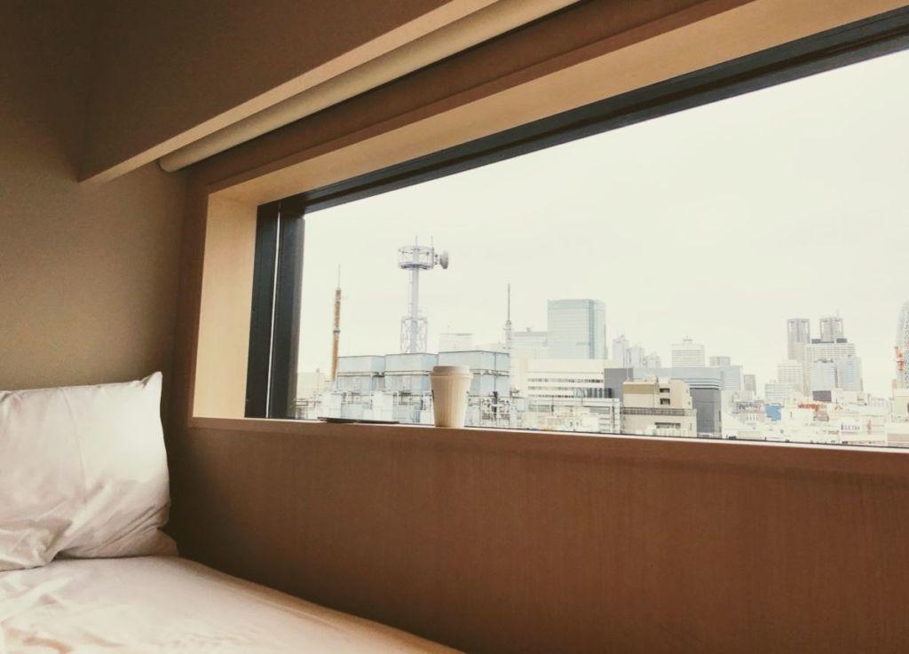 ベットサイド / 由縁 新宿 温泉旅館